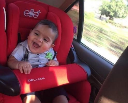 صندلی ماشین کودک ایرانی