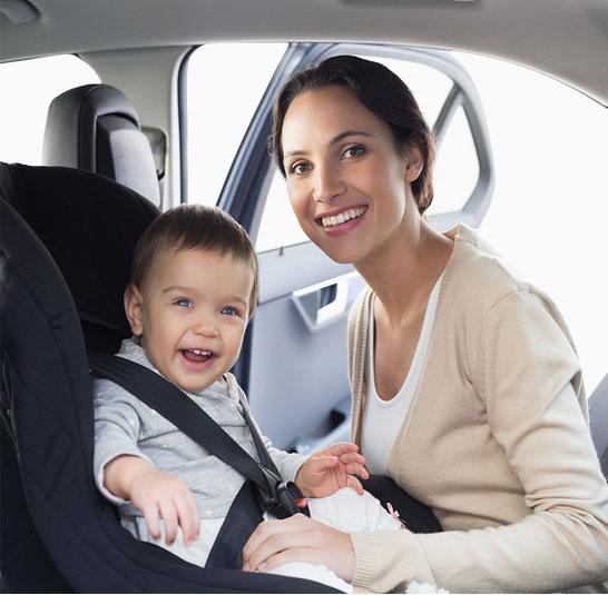 صندلی ماشین کودک خارجی مادر و کودک