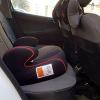 صندلی ماشین حامی مشکی نوار قرمز